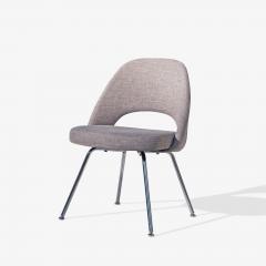 Eero Saarinen Saarinen Executive Armless Chairs in Gray by Eero Saarinen for Knoll Set of 6 - 1705154