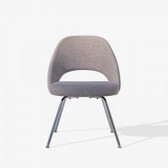 Eero Saarinen Saarinen Executive Armless Chairs in Gray by Eero Saarinen for Knoll Set of 6 - 1705155