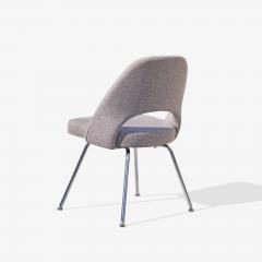 Eero Saarinen Saarinen Executive Armless Chairs in Gray by Eero Saarinen for Knoll Set of 6 - 1705156