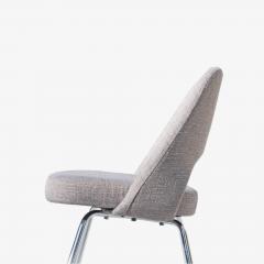 Eero Saarinen Saarinen Executive Armless Chairs in Gray by Eero Saarinen for Knoll Set of 6 - 1705157