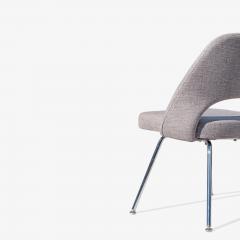Eero Saarinen Saarinen Executive Armless Chairs in Gray by Eero Saarinen for Knoll Set of 6 - 1705161