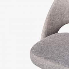 Eero Saarinen Saarinen Executive Armless Chairs in Gray by Eero Saarinen for Knoll Set of 6 - 1705162