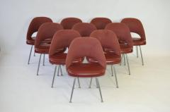 Eero Saarinen Set of Ten Vintage Eero Saarinen Chairs for Knoll - 357505