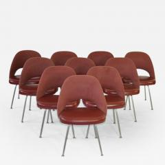 Eero Saarinen Set of Ten Vintage Eero Saarinen Chairs for Knoll - 358872