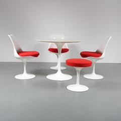 Eero Saarinen Tulip Dining set by Eero Saarinen for Knoll International USA 1980 - 967034