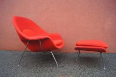 Eero Saarinen Womb Chair and Ottoman by Eero Saarinen for Knoll - 1205009