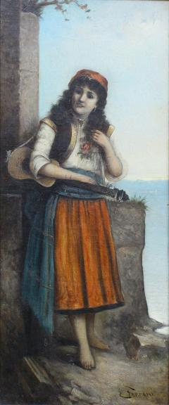 Egisto FERRONI Original Painting - 941596