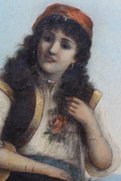 Egisto FERRONI Original Painting - 941600
