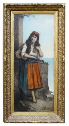 Egisto FERRONI Original Painting - 941602