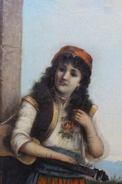 Egisto FERRONI Original Painting - 941606