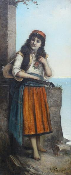 Egisto FERRONI Original Painting - 944867