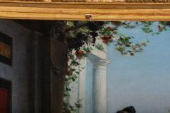 Egisto Sarri Pompeian Scene Oil on Canvas - 636804