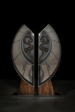 Egli Design Egle Mieliauskiene Black Snake Cabinet - 1124976