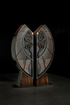Egli Design Egle Mieliauskiene Black Snake Cabinet - 1124977