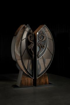 Egli Design Egle Mieliauskiene Black Snake Cabinet - 1124978