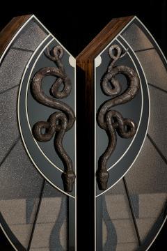 Egli Design Egle Mieliauskiene Black Snake Cabinet - 1124979