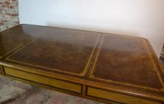Egyptian Revival Leather Top Desk - 1101717