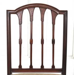 Eight American Hepplewhite Revival Dining Chairs - 1464346
