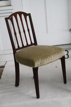 Eight American Hepplewhite Revival Dining Chairs - 1464350