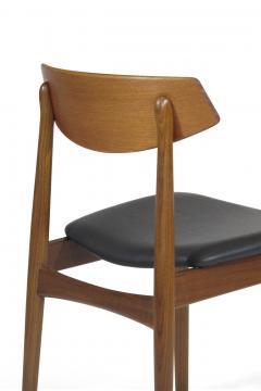Eight Danish Teak Dining Chairs - 1247531