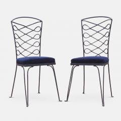 Eight Metal Chairs in the manner of Ren Prou - 1308393