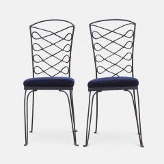 Eight Metal Chairs in the manner of Ren Prou - 1308397
