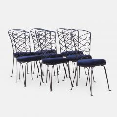 Eight Metal Chairs in the manner of Ren Prou - 1308398