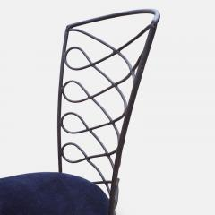 Eight Metal Chairs in the manner of Ren Prou - 1308399