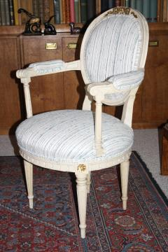 Eighteen Louis XVI Revival Dining Chairs En Peinte - 1464232