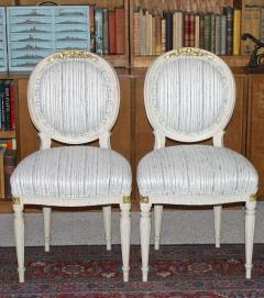 Eighteen Louis XVI Revival Dining Chairs En Peinte - 1464233