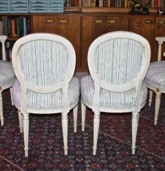 Eighteen Louis XVI Revival Dining Chairs En Peinte - 1464234