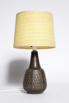 Einar Johansen Brown table lamp Einar Johansen Soholm 1960s - 2102534