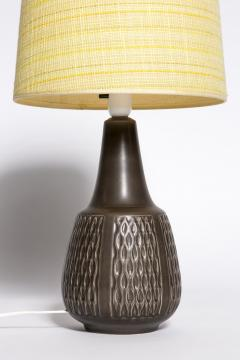 Einar Johansen Brown table lamp Einar Johansen Soholm 1960s - 2102549