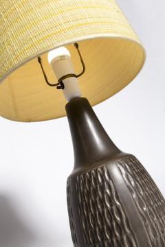 Einar Johansen Brown table lamp Einar Johansen Soholm 1960s - 2102550