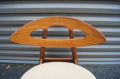 Ejvind A Johansson Set of Four Teak Eye Chairs by Ejvind A Johansson for Ivan Gern M belfabrik - 1166147