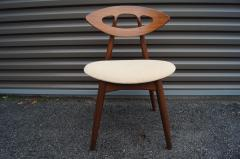Ejvind A Johansson Set of Four Teak Eye Chairs by Ejvind A Johansson for Ivan Gern M belfabrik - 1166148