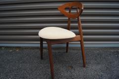 Ejvind A Johansson Set of Four Teak Eye Chairs by Ejvind A Johansson for Ivan Gern M belfabrik - 1166150