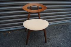 Ejvind A Johansson Set of Four Teak Eye Chairs by Ejvind A Johansson for Ivan Gern M belfabrik - 1166153