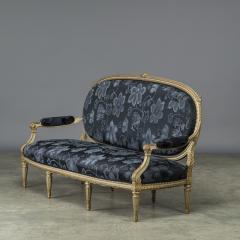 Elegant Canape Louis XVI Style France 1860 1880 - 912583