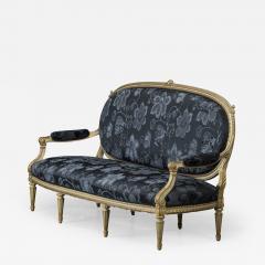 Elegant Canape Louis XVI Style France 1860 1880 - 912733