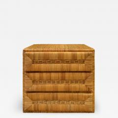 Elegant Chest of Drawers In Rattan 1970s - 1273523
