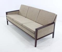 Elegant Danish Modern Sofa with Rosewood Frame - 321407