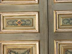Elegant Pair of 19th Century Italian Painted Doors or Panelling - 1211681