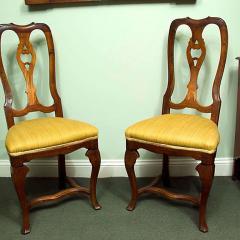 Elegant Set Of Four Italian Baroque Chairs   136280
