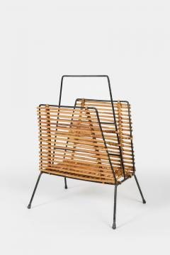 Elegant newspaper rack 50s Italy - 1856627