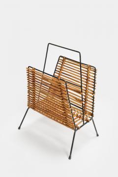 Elegant newspaper rack 50s Italy - 1856628