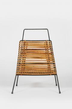 Elegant newspaper rack 50s Italy - 1856630