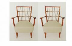 Elegant pair of Italian 1940s armchairs - 754716
