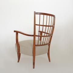 Elegant pair of Italian 1940s armchairs - 754719