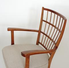 Elegant pair of Italian 1940s armchairs - 754728